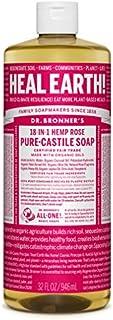 Dr. Bronner's - Pure-Castile Liquid Soap (Rose, 32 ounce)