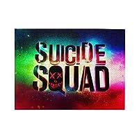 映画 スーサイドスクワッド The Suicide Squad 無害な素材で作られた500個の木製パズル玩具、大人にはストレス解消、子供には教育的な 38x52 Cm