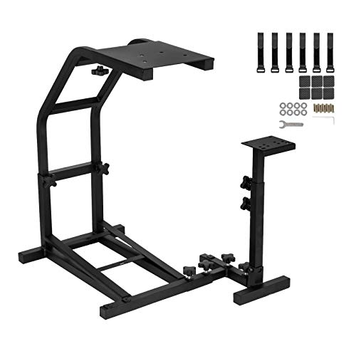 Smarketbuy Racing Wheel Stand Height Adjustable Driving Simulator Cockpit Compatible with Logitech G25, G27, G29, G920 Gaming Cockpit (G25/G27/G29/G920)