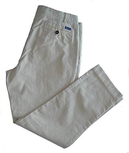 Pantalone Uomo Aquascutum Pants Man Light Beige Nether Relaxed