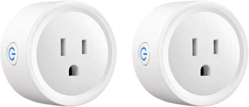 Newxton Smart Plug, with Energy Monitoring, Mini WiFi Outlet Compatible with Alexa, Google Home, No Hub Required, Remote C...