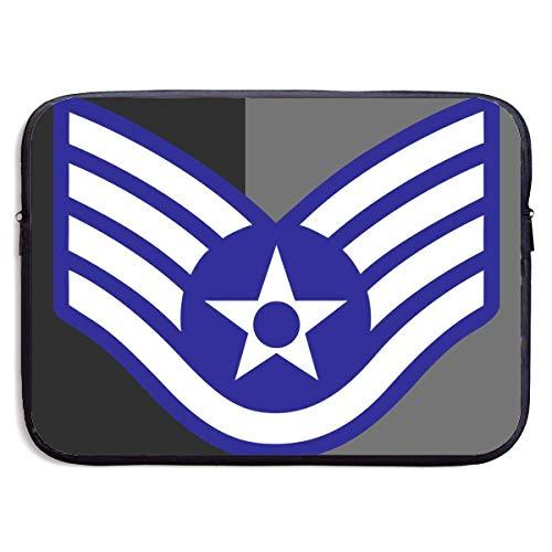 Zome Lag Sargento De Estado Mayor De La Fuerza Aérea Estuches para Tablet Pc,Maletín Funda,Hombre/Mujer Tableta Sleeve,Funda Protectora,Funda para Portátil,Fundas Blandas para Tablets 13In