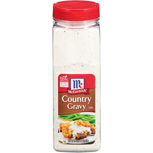 McCormick Country Gravy Mix, 18 oz
