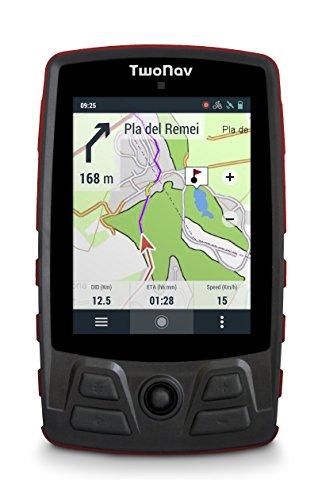 TwoNav Trail Bike (Rojo) - GPS Full Connect para Ciclismo de Montaña