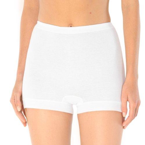 Schiesser Damen Pagenslip Panty Feinripp 4er Pack, Größe:54;Farbe:Weiß (100)