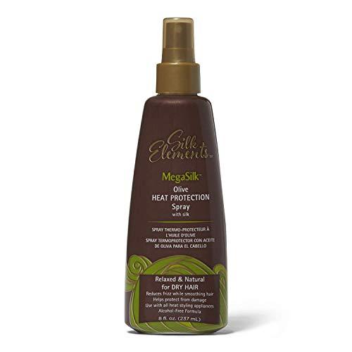 Silk Elements Megasilk Olive Heat Protection Spray - 8oz