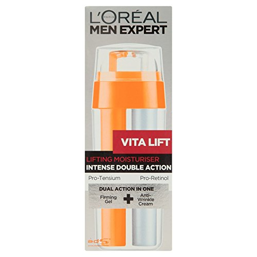 6 x L'Oreal Paris Men Expert Vita Lift Lifting Moisturiser Intense Double Action 30ml