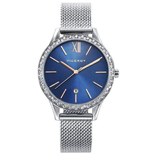 Viceroy 471102-99 Reloj de Mujer Cuarzo Esfera Azul Circonit