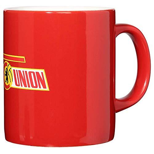 1. FC UNION Berlin Tasse, Becher, Kaffeetasse Logo Rot