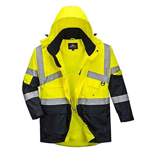 Portwest S760hi-vis Jacke Atmungsaktiv, Farbe, Größe XL