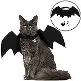 Angshop Fledermaus-Kostüm für Katzen, Fledermaus, Flügel, Haustierkostüm, mit Zwei...