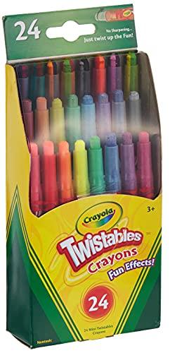 Crayola Twistables Fun Effect Crayons (24 Count)