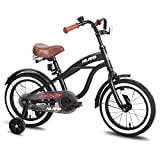"JOYSTAR 16"" Kids Cruiser Bike with Training Wheels for Ages 2-6 Years Old Girls & Boys, Toddler Kids Bicycle"