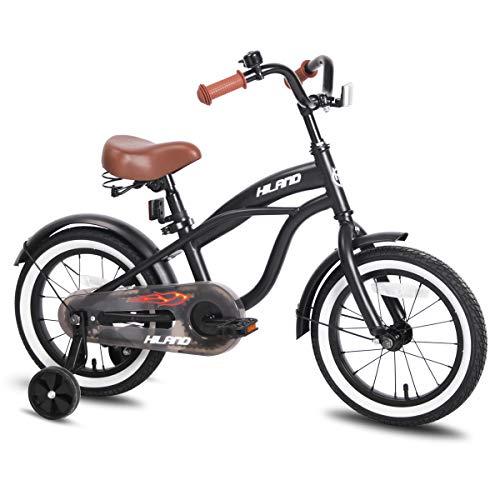 Find Bargain JOYSTAR 14 Inch Boys & Girls Bike with Training Wheels & Bell for 3 4 5 Years, Children...