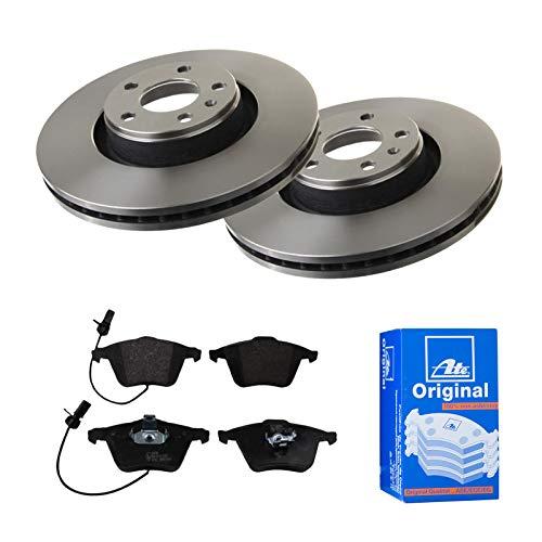 2 Bremsscheiben belüftet 321 mm + Bremsbeläge Vorne von ATE (1420-22278) Bremsensatz Bremsanlage Bremsen-Kit,Bremsenset, Bremsscheiben, Bremsbeläge, Bremsen-Set, Beläge, Bremsbelag, Bremsbelagsatz,