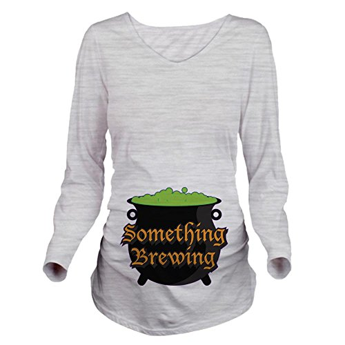 CafePress Halloween Something Long Sleeve Maternity T Shirt...