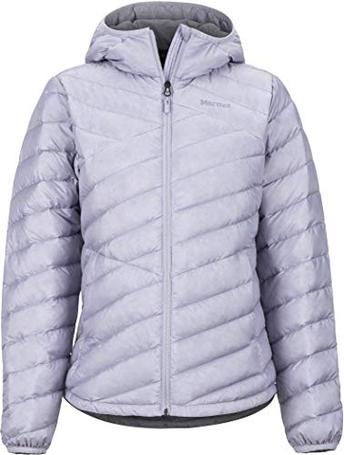 Marmot Highlander Hoody voor dames, ultra-lichtgewicht donsjack, 700 fill-power, warme outdoorjas, waterafstotend, winddicht