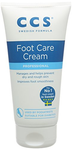 CCS Professional Foot Care Cream, 175 ml, 10 Percent Urea, Softens & Prevents Dry, Rough Skin