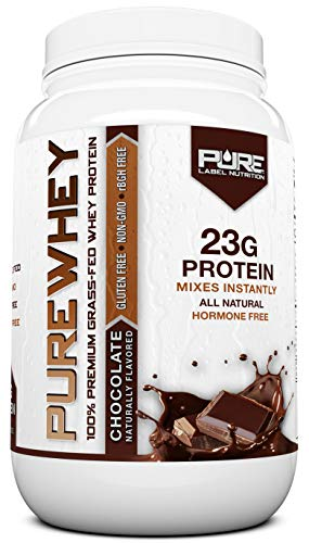 100% GRASS FED WHEY PROTEIN - This Whey Protein is sourced from Premium US Dairy Farms. Sourcing from High Quality Grass Fed Cows means a Superior, Cleaner and More Pure Whey Protein that Tastes Amazing! You'll see, try it out for yourself. (SIZE = 2...
