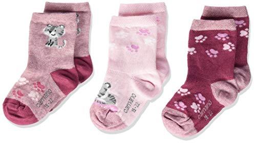 Camano Baby - Unisex Socken 1106006 (Chalk Pink Melange 4300), 19-22, 3er Pack