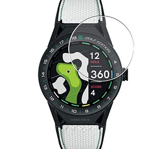 Vaxson 3 Unidades Protector de Pantalla, compatible con TAG Heuer Connected Modular GOLF EDITION 45mm [No Vidrio Templado] TPU Película Protectora Reloj Inteligente Film Guard Nueva Versión