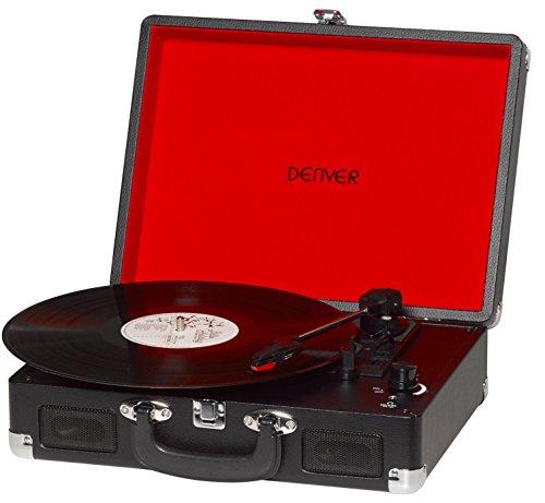 Tocadiscos Denver VPL-120 Black, Reproducción a 3