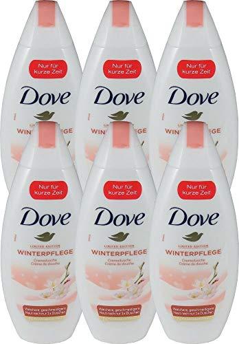 6er Pack - Dove Duschgel Women - Winterpflege - 250ml