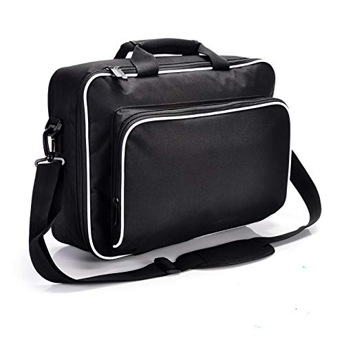 Carrying Case for PS5 - Can hold Playstation 5 host ,Controller, Games, Accessories Shidewu