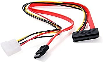 Brand New 15+7 Pin SATA Power/Data to 4 pin IDE Power Cable