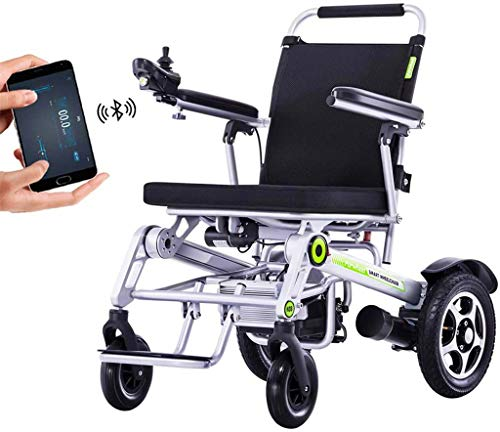 Mobility Aid Wheel Chair Full Automatic GPS Folding Electric Wheelchair, for a Disabled Person Modern Powerchair