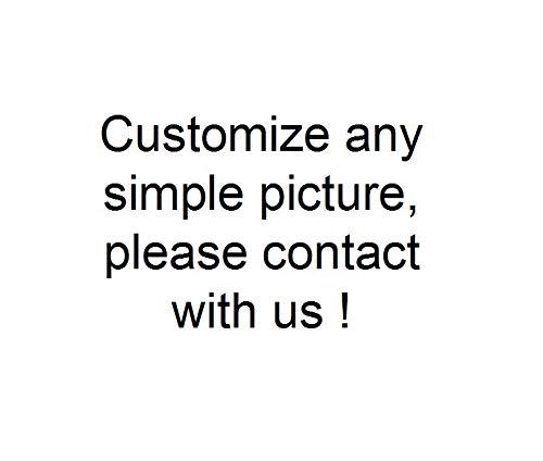 Benutzerdefiniert Beliebiges einfaches Bild für Sie Personalisiert Beliebig Ihr Design Wandtattoo Vinyl Aufkleber Wallpaper Bitte kontaktieren Sie Uns WW-000