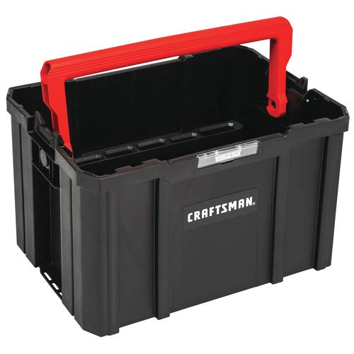 CRAFTSMAN Versastack System 17-in Red Plastic Tool Box