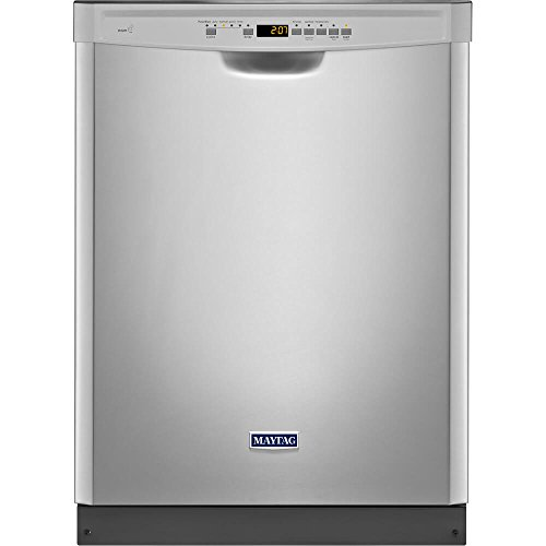 24' 50 dBA Control Dishwasher with 4-Blade Finish: Monochromatic...