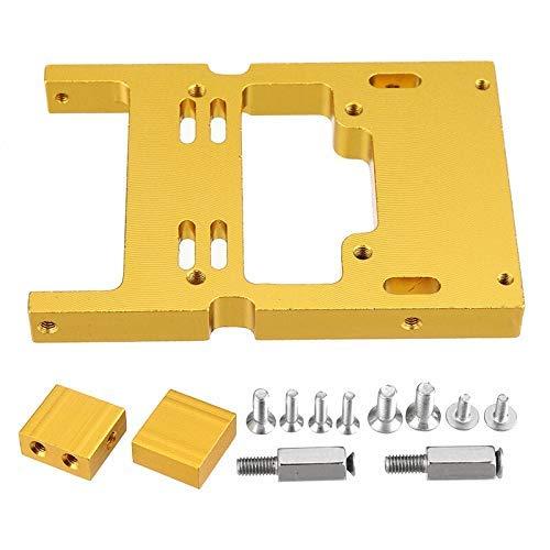 GzxLaY Nuevo Servo Asiento Fijo Gold Control Remoto Repuestos de automóviles Accesorios para 1/16 B1 B16 B24 B36 C14 C24 Modelos de automóviles RC Vehículos