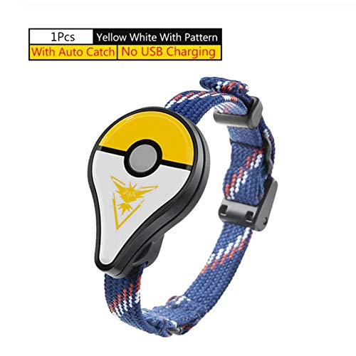 Wiouy For Pokemon GO Plus - Pulsera con Bluetooth para Nintendo Switch Pokemon Go Plus, diseño de pájaro amarillo automático