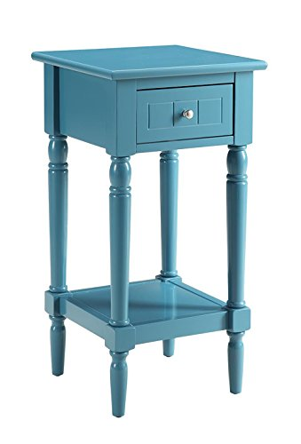 French Country Hall Table in Blue