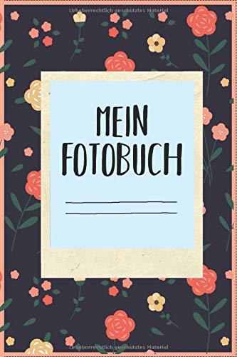 Mein Fotobuch: Fotobuch 120 Seiten zum einkleben Sofortbilder 85mm x 55mm Sofortbild Sofortbildkamera Fotoalbum Album Geschenk Erinnerungsbuch Mini