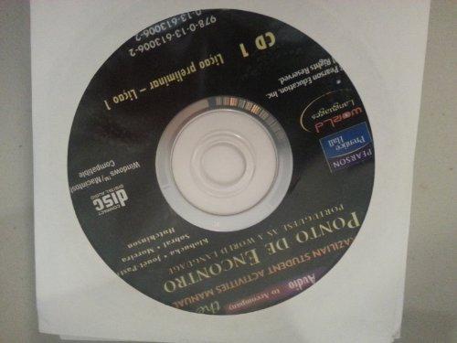 Audio CDs for Ponto de Encontro: Portuguese as a World...