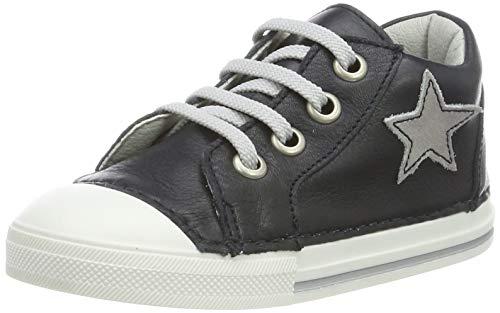 Däumling Unisex Baby Esther Sneaker, Blau (Seta Ozean 47), 23 EU