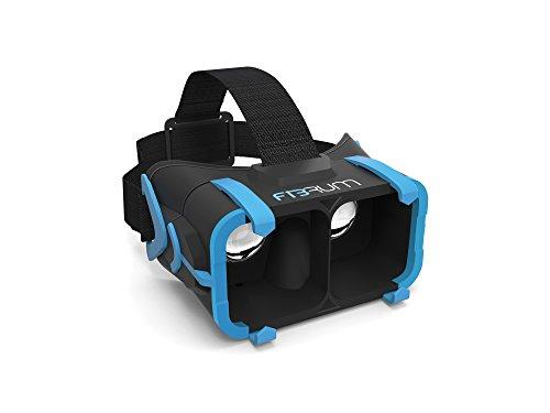 Fibrum pro Virtual Reality Brille Smartphone schwarz/blau