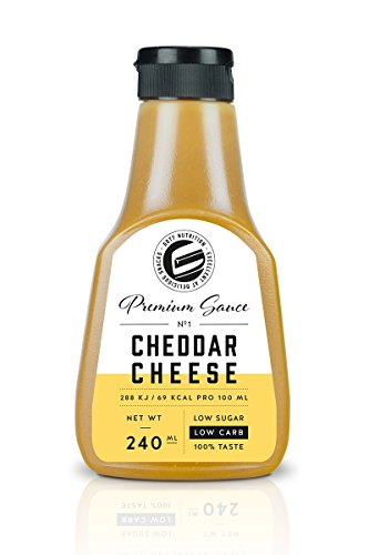 Got7 Premium Sauce No.1 Soße Grillsoße Perfekt Zur Diät Abnehmen Fitness Bodybuilding 240ml (Cheddar Cheese)