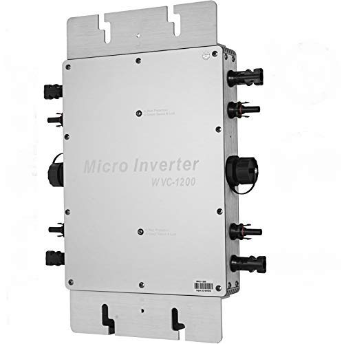 Mophorn MPPT Micro Inverter 1200W Grid Tie Inverter 220V Modulwechselrichter Inverter DC to AC (1200w)