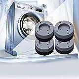 Kitchen-dream 4 STÜCKE Waschmaschine Fußpolster Anti Vibration Waschmaschine Füße Pad Anti Rutsch Gummi Fußpolster für Waschmaschinen und Trockner - 2