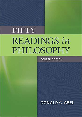 Fifty Readings in Philosophy