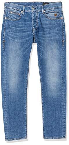 Herrlicher Herren Tyler Denim Cashmere Touch Tapered Fit Jeans, Blau (Valor 822), W34/L32 (Herstellergröße:34)