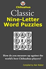 Chihuahua Classic Nine-Letter Word Puzzles Paperback