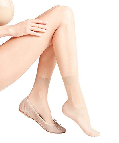 FALKE Seidenglatt Damen 15 DEN W SO Socken, Beige (Cocoon 4859), 39-42 (UK 5.5-8 Ι US 8-10.5)