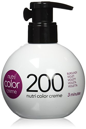 REVLON PROFESSIONAL Nutri Color Crème, Violett 200, 1er Pack (1 x 250 ml)