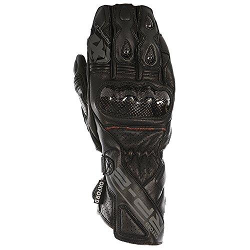 OXFORD rp-2 - Guantes Deportivos para Moto (Piel), Color Negro