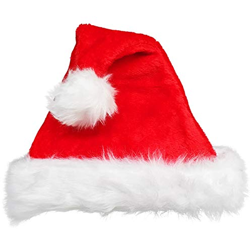 Ciffre Weihnachtsmütze Nikolausmütze Winter Mütze Mützen Nikolaus Baby 0-6 Monate